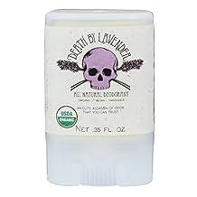 North Coast Organics 2001 Death by lavender organic deodorant, 0.35 Ounce