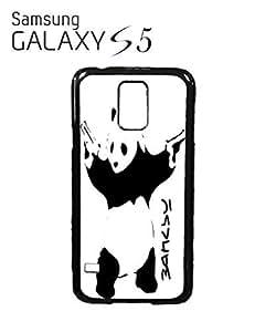 Banksy Panda Street Art Mobile Cell Phone Case Samsung Galaxy S5 White