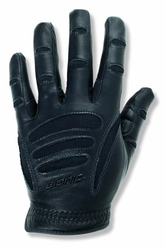 Bionic Driving Gloves - Bionic DVML  Men's Driving Gloves, Black, Large