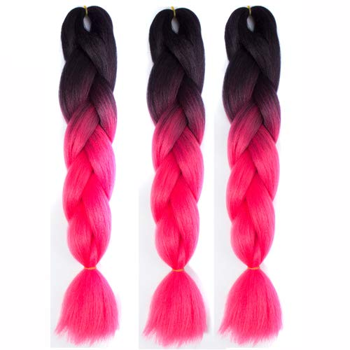Culturemart 1Pc Colorful Chemical Fiber Big Braids Wigs Tricks Funny African Pigtail Hair Halloween Xmas Party Bar Dance Decorations 2018 by Culturemart