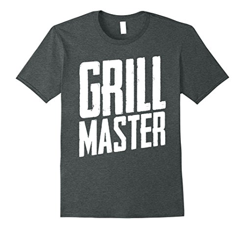 Mens BBQ Smoker Gifts , Grill Master T Shirt, Grill Lovers Gifts XL Dark Heather