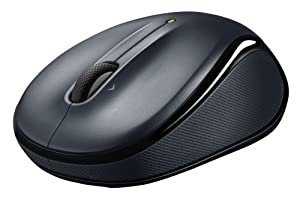 Logitech Wireless Mouse M325 with Designed-For-Web Scrolling - Dark Silver by Logitech