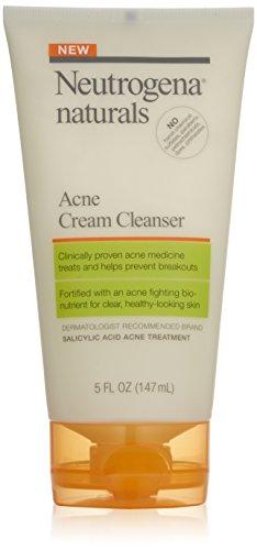Neutrogena Naturals acné Crème nettoyante, 5 once