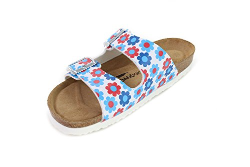 JOE N JOYCE London Sandalen Floriblue