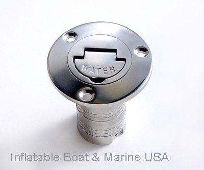Boat Deck Fill / Filler Keyless Cap -1 1/2