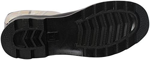 Fashion Beige Women's Rubber Rain New Brand de Bottes Plaid Boots pluie zwqS1q