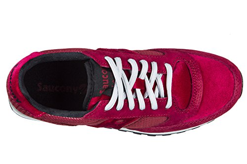 Original Nuove Rosso Scarpe Rosso camoscio Sneakers Saucony Donna Jazz xTRYxqw