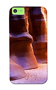 Graceyou Design High Quality Sandy Sandstone Cavern Cover Case With Ellent Style For ipod touch4(nice Gift For Christmas)