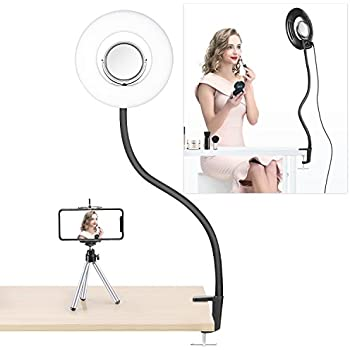 Amazon Com Neewer Dimmable 8 Inch Mini Led Ring Light