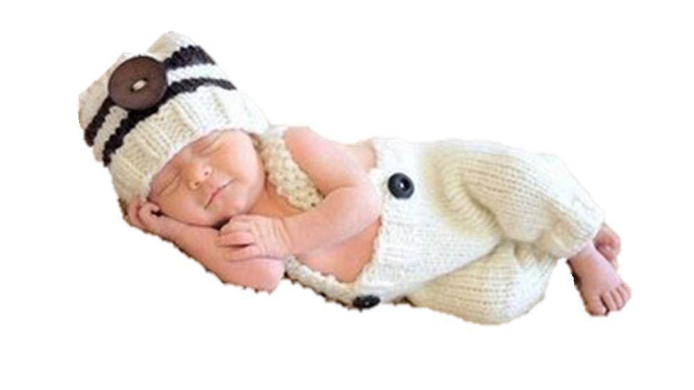 MATISSA Bebé recién nacido Crochet Tejer Disfraz Fotografía Prop ...