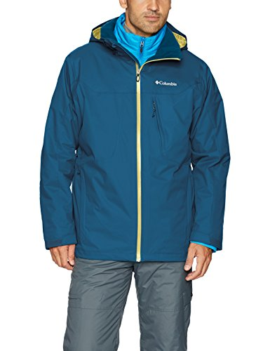 Phoenix Waterproof Jacket (Columbia Men's Whirlibird Interchange Jacket, Large, Phoenix Blue)