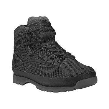 (Timberland A1O33 Men's Euro Hiker Cordura Fabric Boots, Black - 13 M )