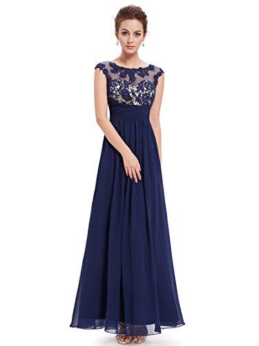 Ever-Pretty HE08441RD08 - Vestido para mujer Navy blue