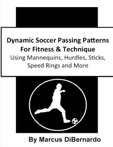 Coaching Stick Hurdle - Dynamic Soccer Passing Patterns For Fitness & Technique: Using Mannequins, Hurdles, Sticks, Speed Rings and More