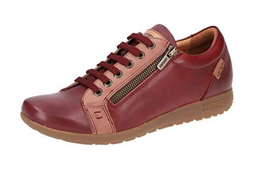 Sneakers Donne Lisboa Bordeaux W67 Basse Pikolinos wHtEdSqt