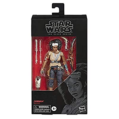 Star Wars The Black Series Jannah Toy 6