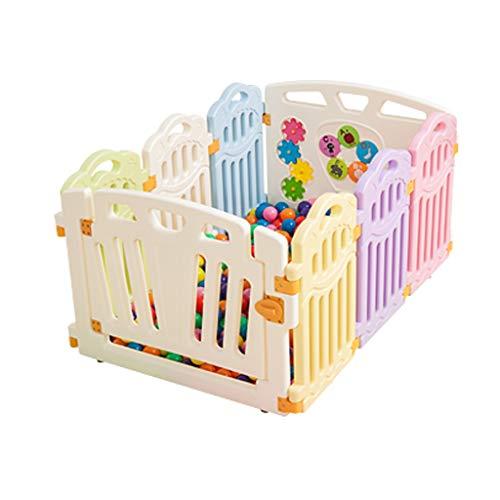 結果として心配する経過ZYH 幼児の隔離フェンス、子供の屋内のゲームフェンスの安全クロール保護柵家庭用オーシャンボールプール赤ちゃんのおもちゃのバー40-80CM 広いスペース (色 : H h)