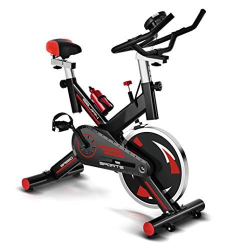LeeBZ Oefening Fiets, Indoor Fitness Stationaire Fiets, Thuis En Fitnessruimte Training Professionele Uitrusting Met LED…