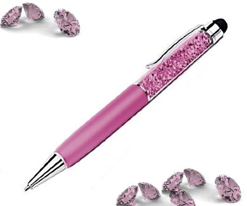 High Sensitive - Bolígrafo con brillantes con lápiz para pantalla táctil, color rosa BLUE BD GmbH