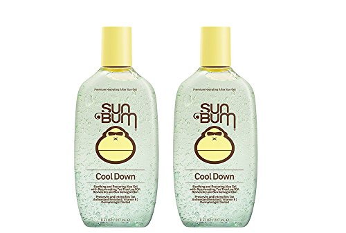 Sun Bum Cool Down Khysy Hydrating After Sun, 8 oz - After Sun Gel (2 Pack)