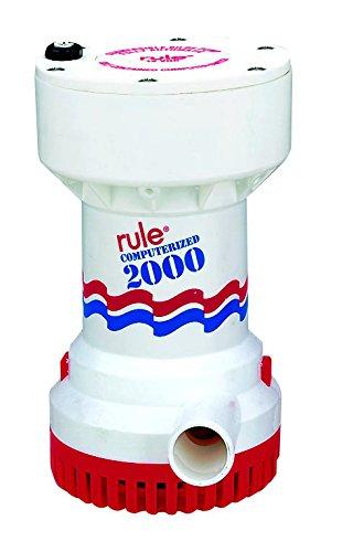 春夏新作 RULE 53S 2000 G.P.H.自動ビルジポンプ12ボルト   B000O8F792, アオバク 09773e74