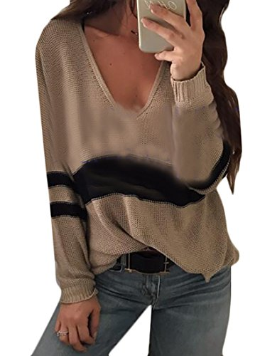 V M amp;S Sweater Women's Warm amp;W Knit Long Sleeve Pullovers 1 Neck wSqaSIgcr
