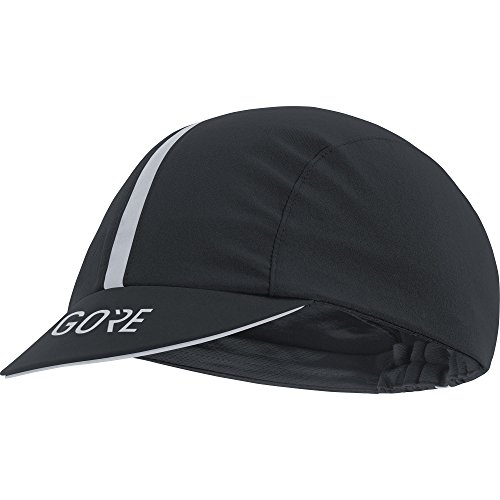 Cap Gore (GORE WEAR Men's Breathable Bike Cap, C5 Light Cap, One Size, One Size, Color: Black, 100051)