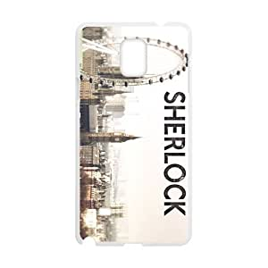 Sherlock City Design Hard Case Cover Protector For Samsung Galaxy Note4