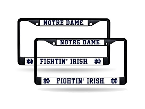Buy rico notre dame fighting irish metal license plate