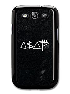 AMAF ? Accessories ASAP Rocky Black and White Logo case for Samsung Galaxy S3
