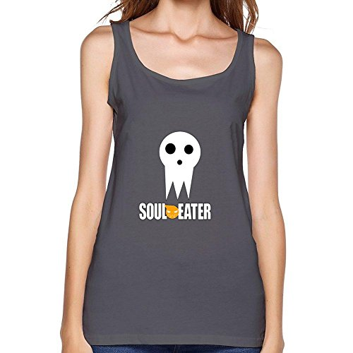 Yhdjk Women's Soul Eater Death Vest Deep Heather XL