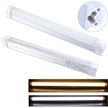 Integrated T8 LED Tube Light Fixture - 12W (=28W fluorescent =100W incandescent), Length - 3 ft (36 inch or 900 mm), 6500K-cool white, 50,000 hrs, LED bulb perfect replacement of T8 and T12 Fluorescent Tube Light Fixture