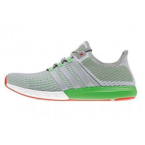 Adidas Men's CC Gazelle Boost M White Grey Green Running Shoes (9 ...