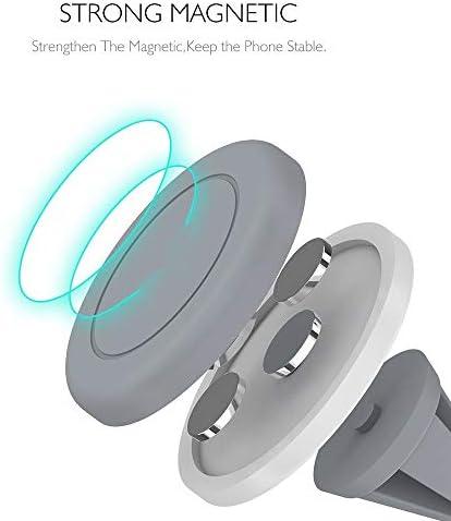 携帯電話ホルダー 車のホールダーの普遍的な空気出口の電話台紙のための車の電話台紙の磁気スマートフォンのブラケット 自動車電話ホルダー (色 : 緑, Size : Free size)