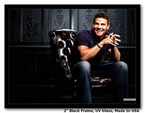 eanaz Framed Art Prints 14 X 11 Frame, Wall Art, Pop Art, Poster | Rare Posters (David Boreanaz Poster)
