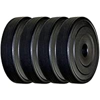 AURION 12 KG VINYL PLATES FOR DUMBBELLS. BEST FOR HOME GYM ,FITNESS