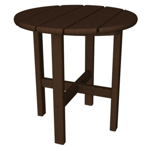 Trex Outdoor Furniture Cape Cod Round 18-Inch Side Table