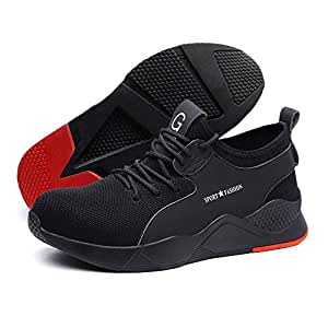 Indestructible Work Shoes, Womdee 2019 New Heavy Duty Sneaker Safety Work Shoes Breathable Anti-Slip Puncture Proof for Men