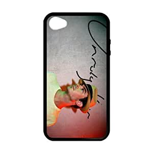 iPhone 4 Case, [Ian Joseph Somerhalder] iPhone 4,4s Case Custom Durable Case Cover for iPhone4s TPU case (Laser Technology)