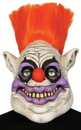 Killer Klown Costume (Killer Klown From Outer Space Adult Latex Mask)