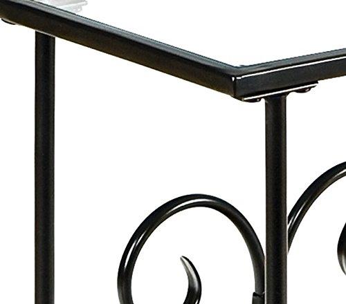 Decorative Metal Magazine Table
