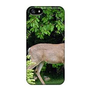 Iphone Cases - Cases Protective For Iphone 5/5s- Tuesday Morning Deer by ruishername