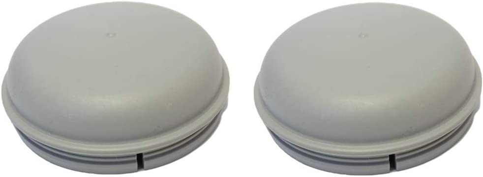 Troon&Co - Tapón de cojinete de Polvo para remolques Ifor Williams (2 x 76 mm)