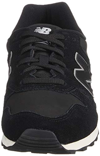 New Balance 373 True Black Suede Trainers