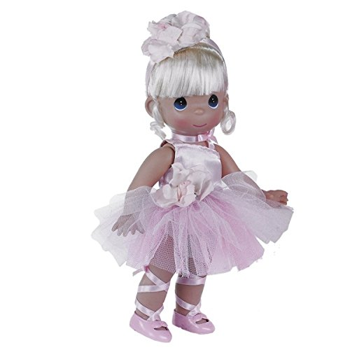 Precious Moments Dolls by The Doll Maker, Linda Rick, Ballerina Bliss Blonde, 12 inch (Blonde Ballerina)
