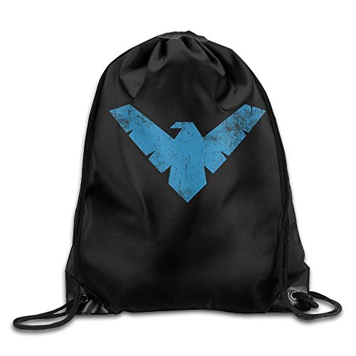 MissMr Nightwing Belt Backpack,Fashion Trend, Polyester Sports Bag,Net Red Part,Men's Handbag,Ladies,Teenager,Adult,Outdoor Work,Office,Lunch Box