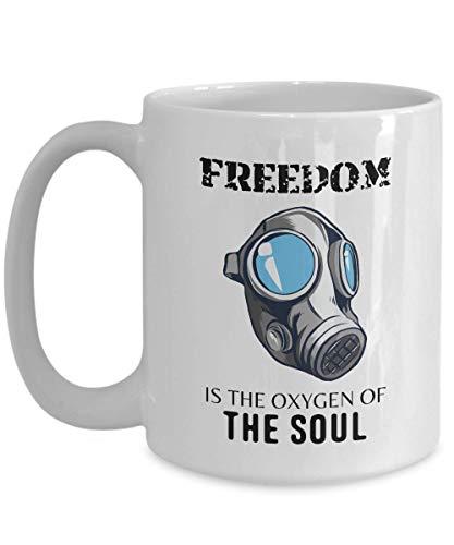 Moshe Dayan Coffee Mug - Freedom Is The