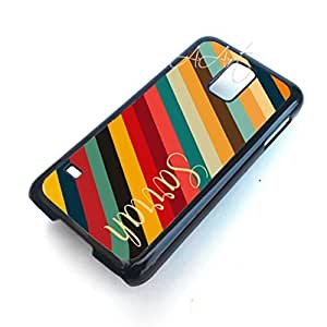Colorful Stripes Pattern Galaxy S5 case / Samsung Galaxy S5 case / Colorful Stripes Galaxy S5 Case - 4G AArt #TM35 -AT&T, Verizon etc..