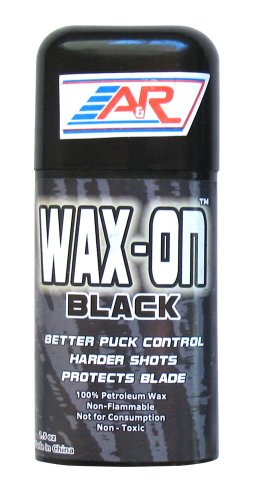 Hockey Stick Wax - A&R Sports Wax-On Hockey Stick Wax, Black
