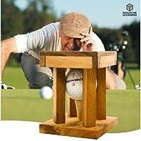 Woods Handicap - Das Golfrätsel - Knobelspiele aus Holz inkl. Golfball -...